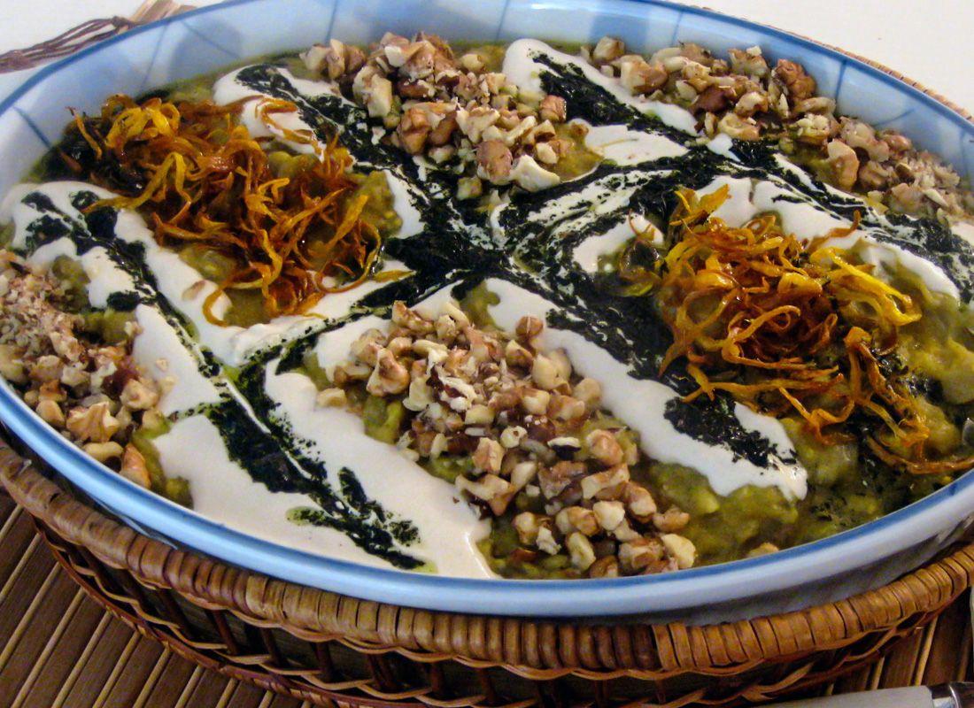 Kashk e bademjan delicious iranian dish made of eggplant and food forumfinder Choice Image