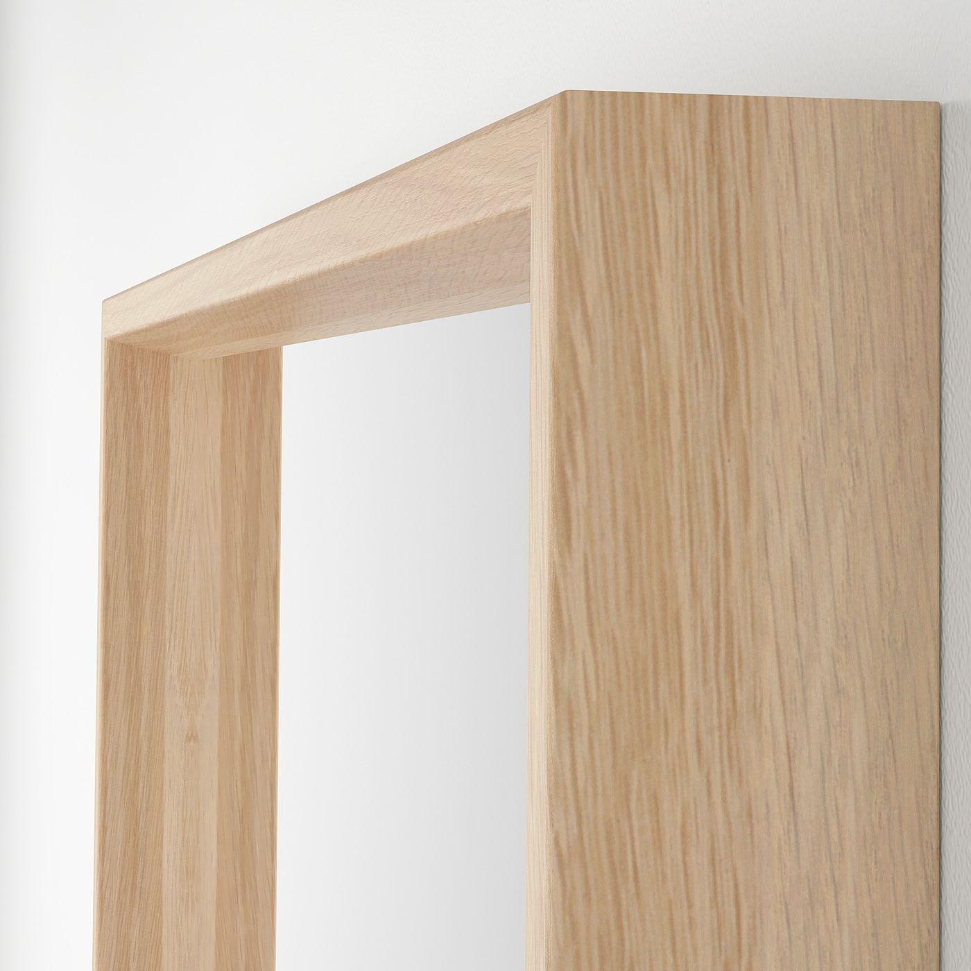Nissedal Spiegel Eicheneff Wlas In 2020 Ikea Spiegel Eiche Und