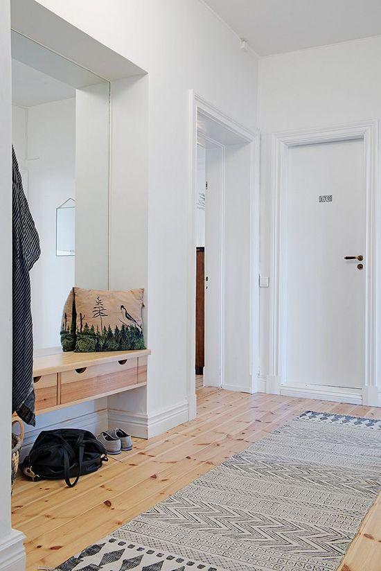 Alfombras para un pasillo acogedor y funcional entradas entrances - Alfombras pasillo ...