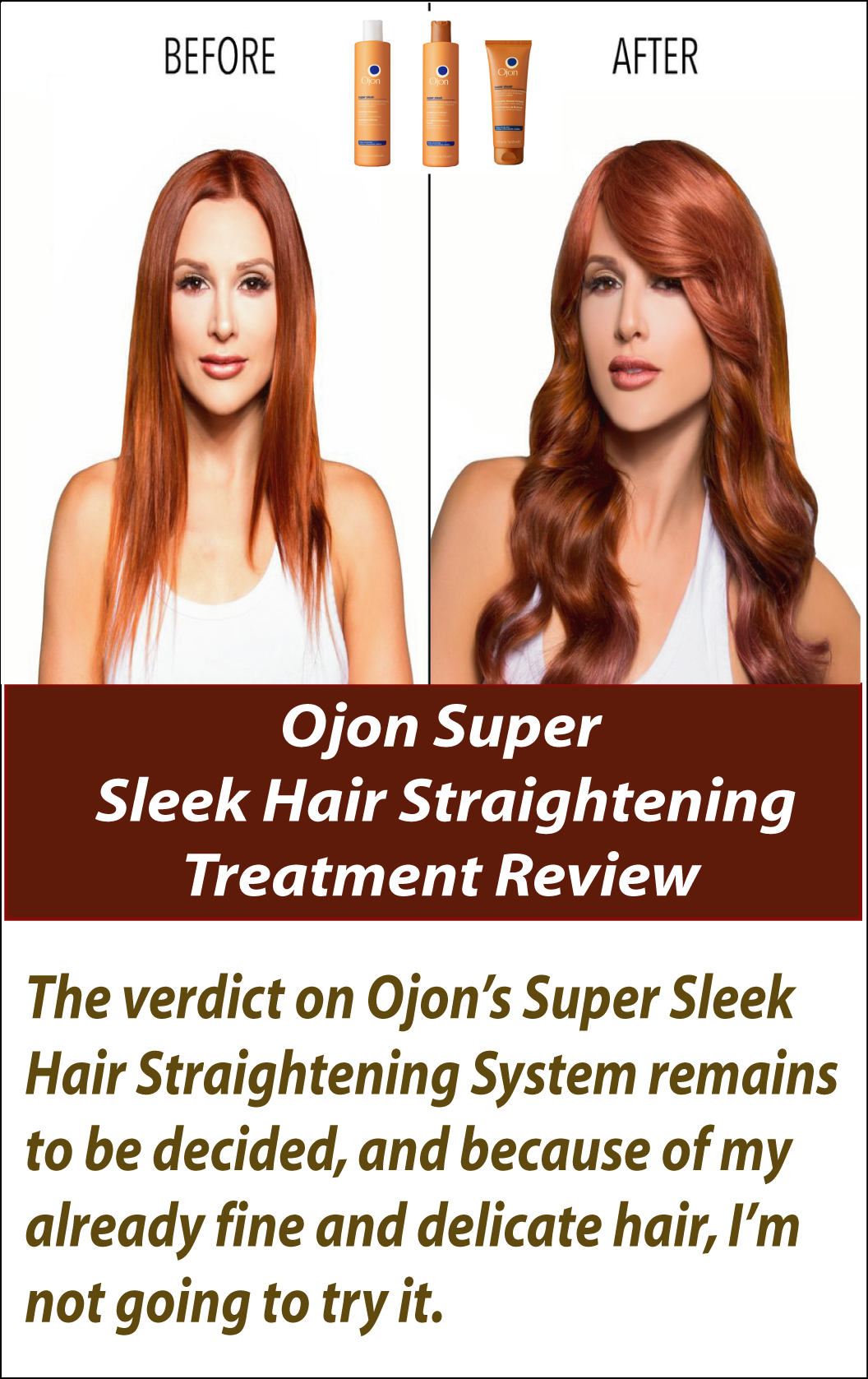 Fancy having sleek glossy strands once again a recent trendy