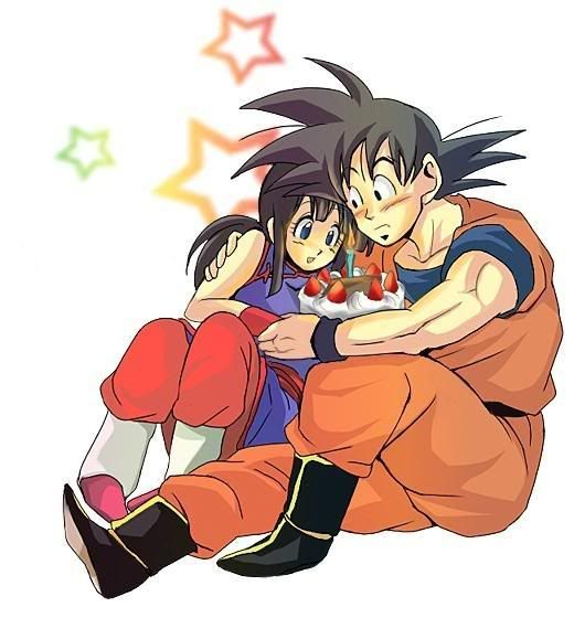 Goku X Chichi Google Search Dragon Ball Z Pinterest