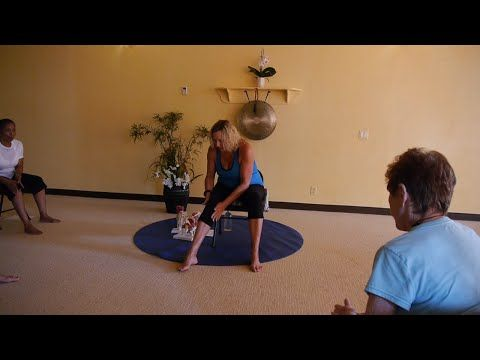 1 hr chair yoga class for osteoarthritis relief with