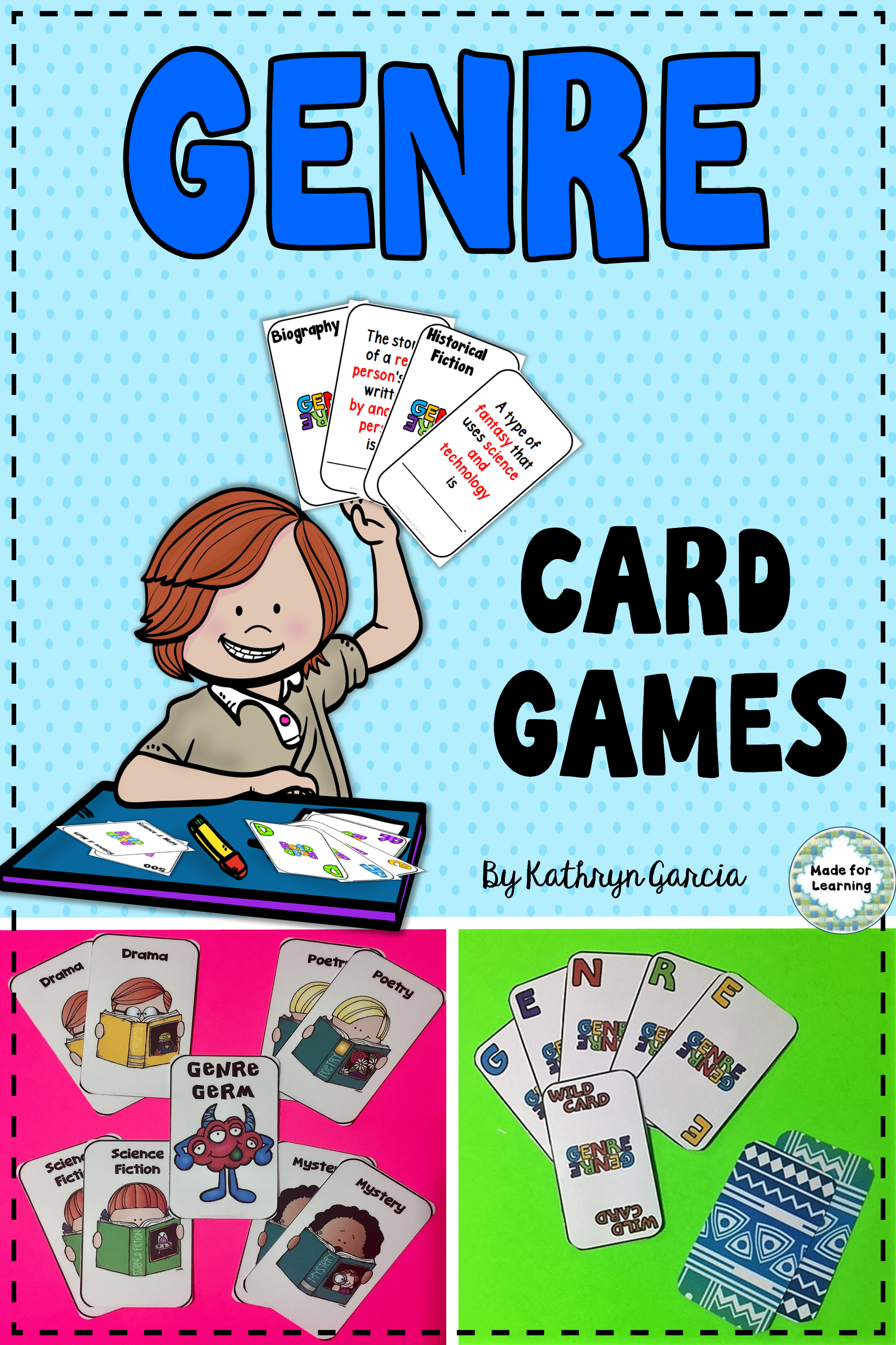 Genre Activities And Games Distance Learning