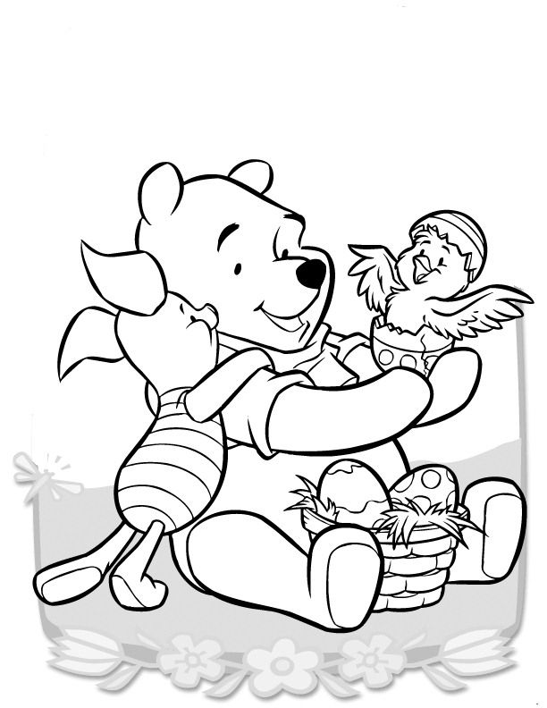 Guarda Tutti I Disegni Da Colorare Di Winnie The Pooh Www Bambinievacanze Com Easter Coloring Pages Disney Coloring Pages Kids Printable Coloring Pages