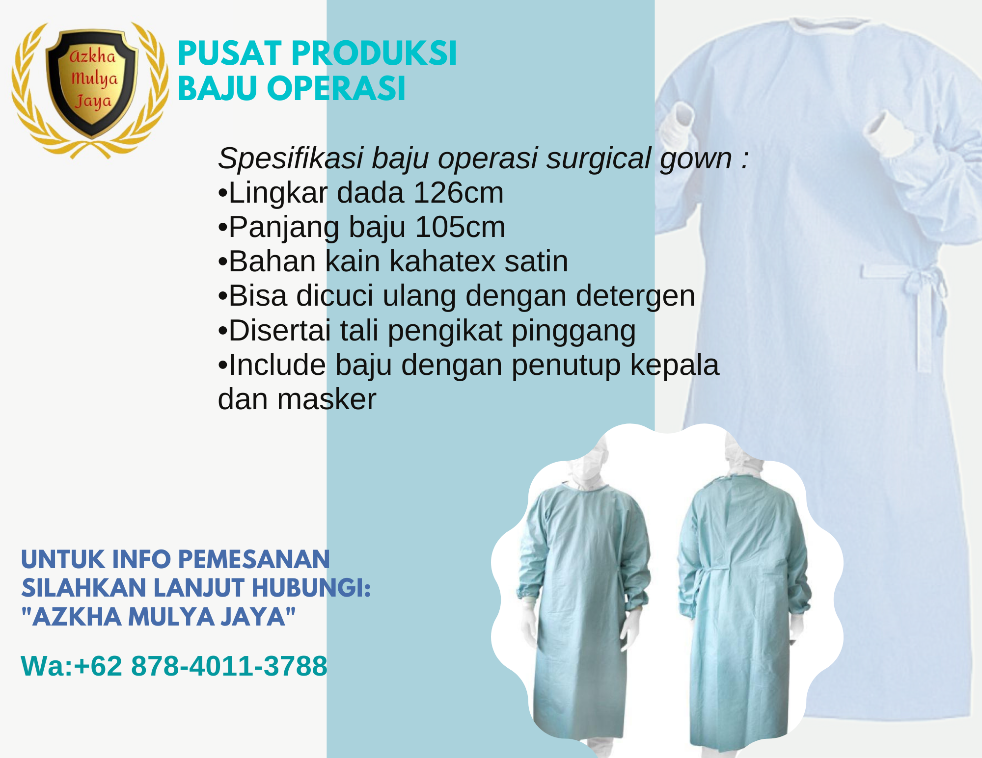 Baju Operasi Dokter