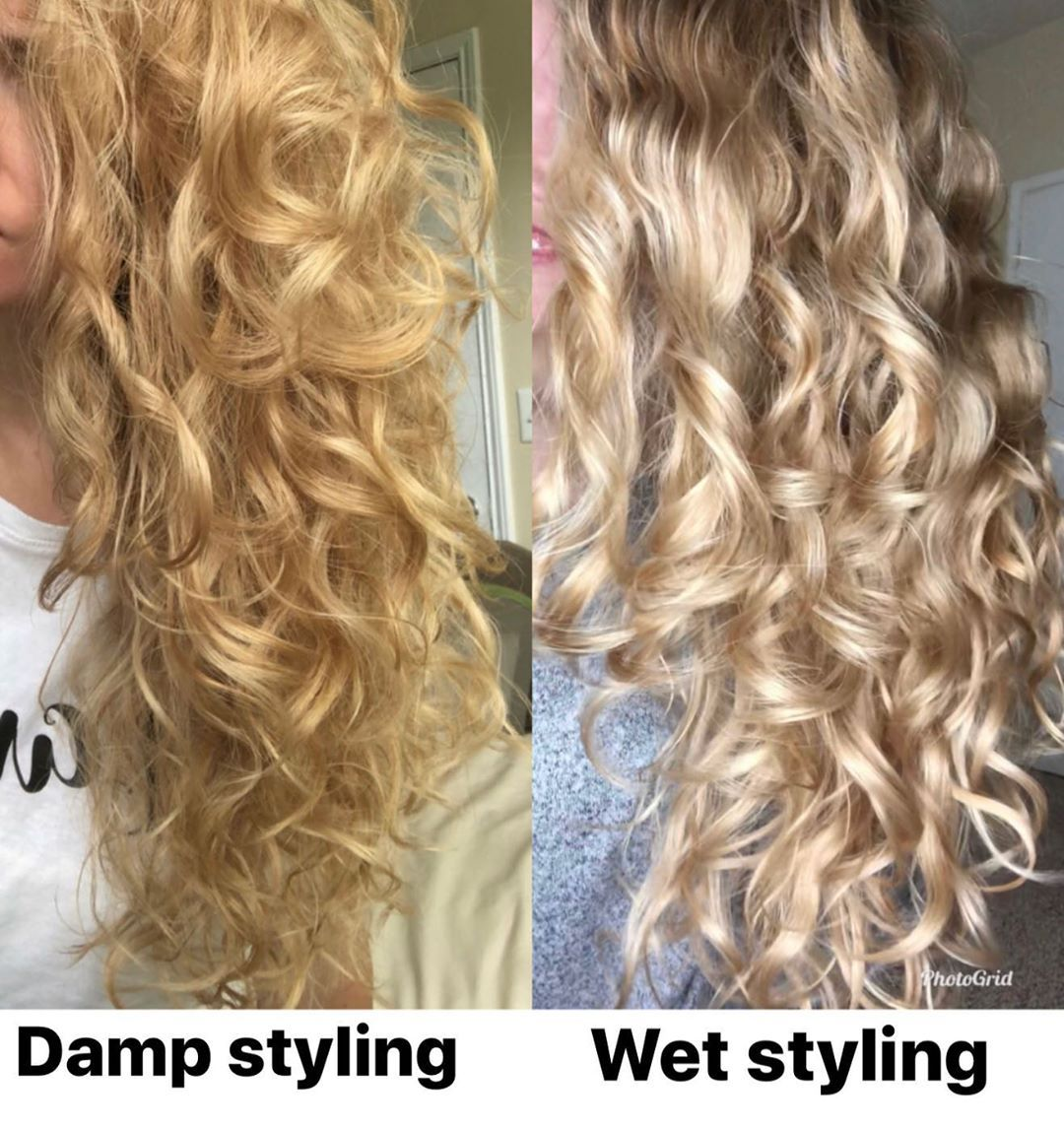 Ali On Instagram Technique Matters For The Longest Time I Tried To Make Damp Styling Work Why It Dries Faster However Curly Hair Tips Hair Hair Hacks