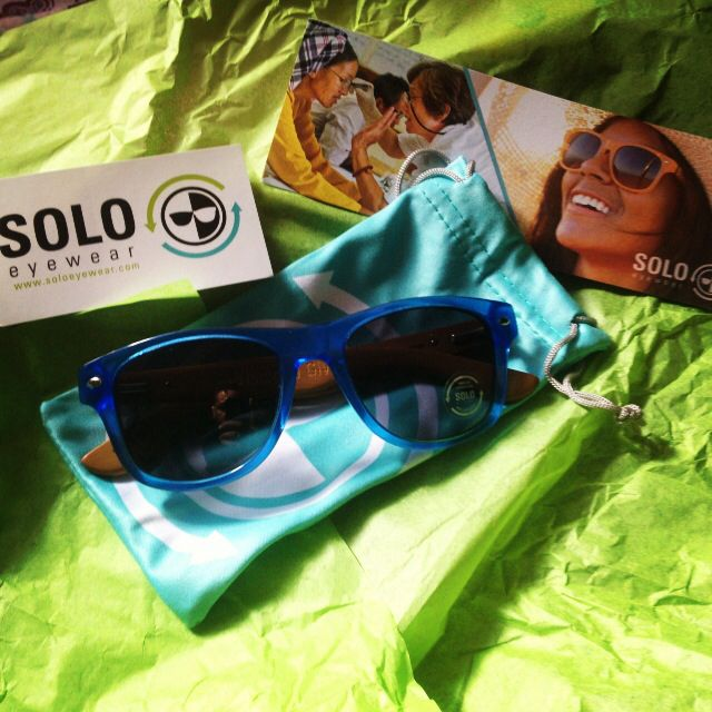 My newest pair of BamBlues by @SOLO Eyewear! Keeping it so fresh and so clean! #dope #sunglasses