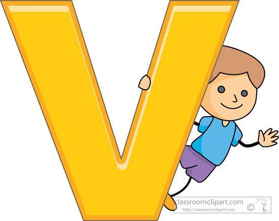 letter V | Alphabets : children_alphabet_letter_v : Classroom ...