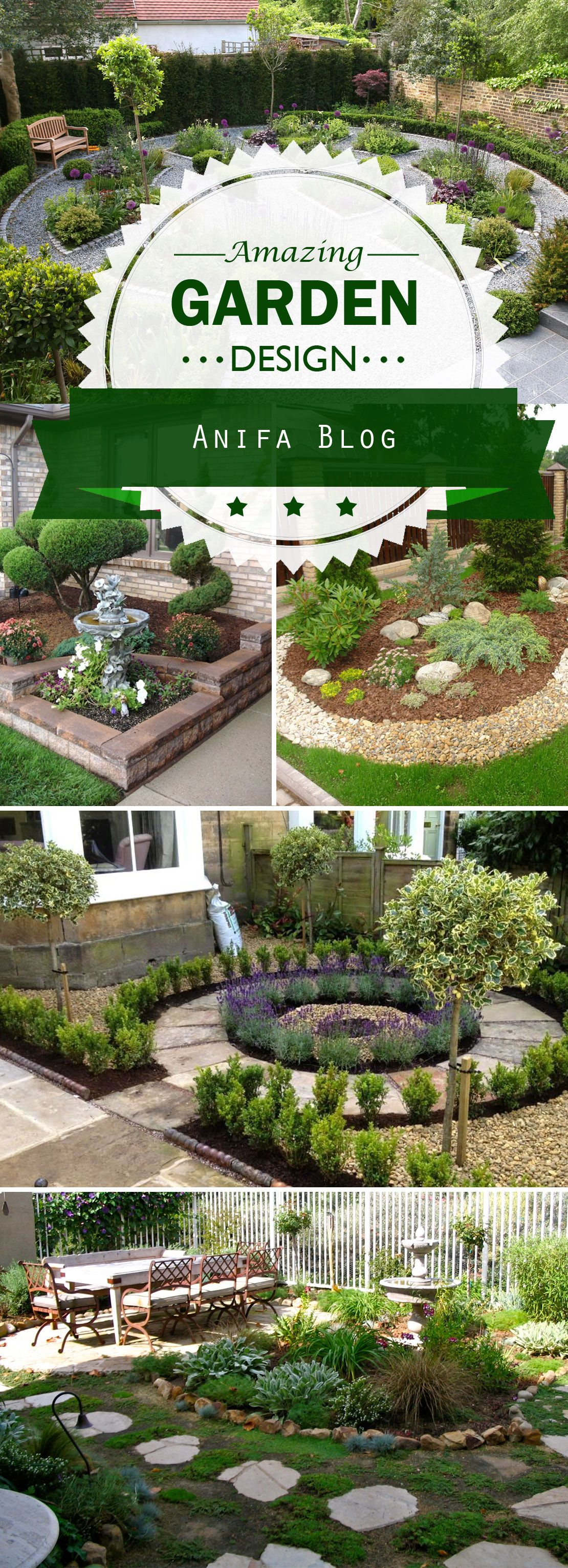 House garden landscape   Amazing Garden Landscaping Ideas and Designs  The Manor House