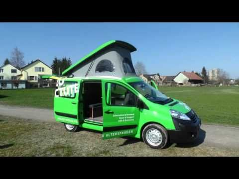 camper conversion peugeot expert by custom campers van. Black Bedroom Furniture Sets. Home Design Ideas