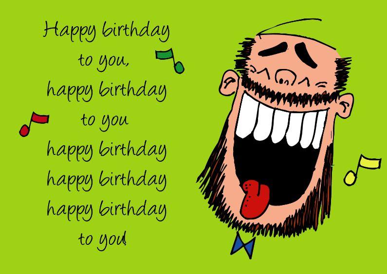 Afbeeldingsresultaat Voor Verjaardagskaart Gratis Man