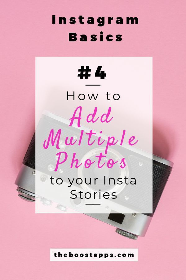 New Add Multiple Photos To Your Stories With Instagram S New