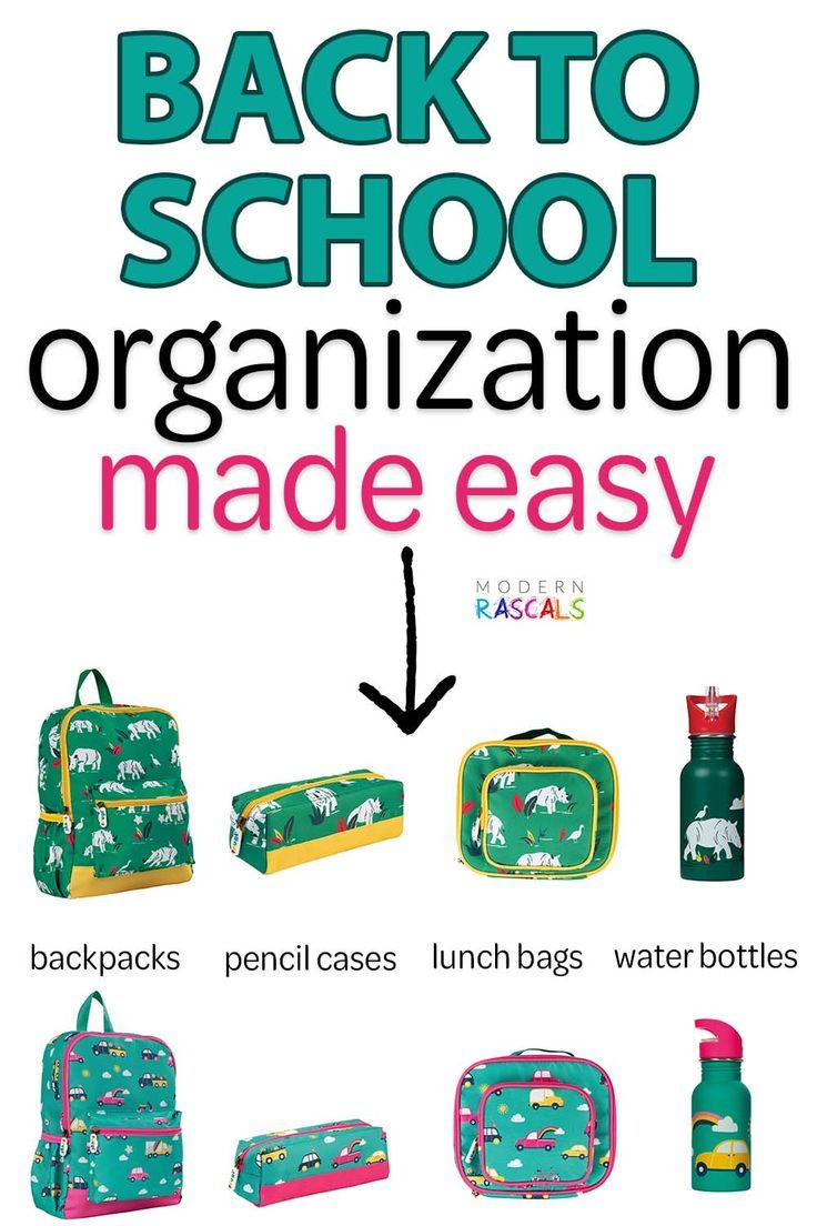 Back To School Supplies For Kids Cute Colorful And Fun
