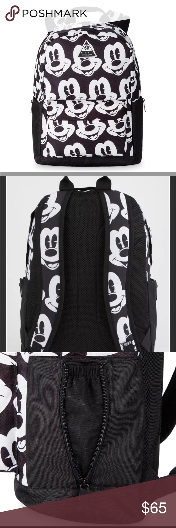 46f155149d1 Disney Neff Mickey Mouse Backpack Brand new Neff Disney Mickey Mouse  Backpack. Hard to find