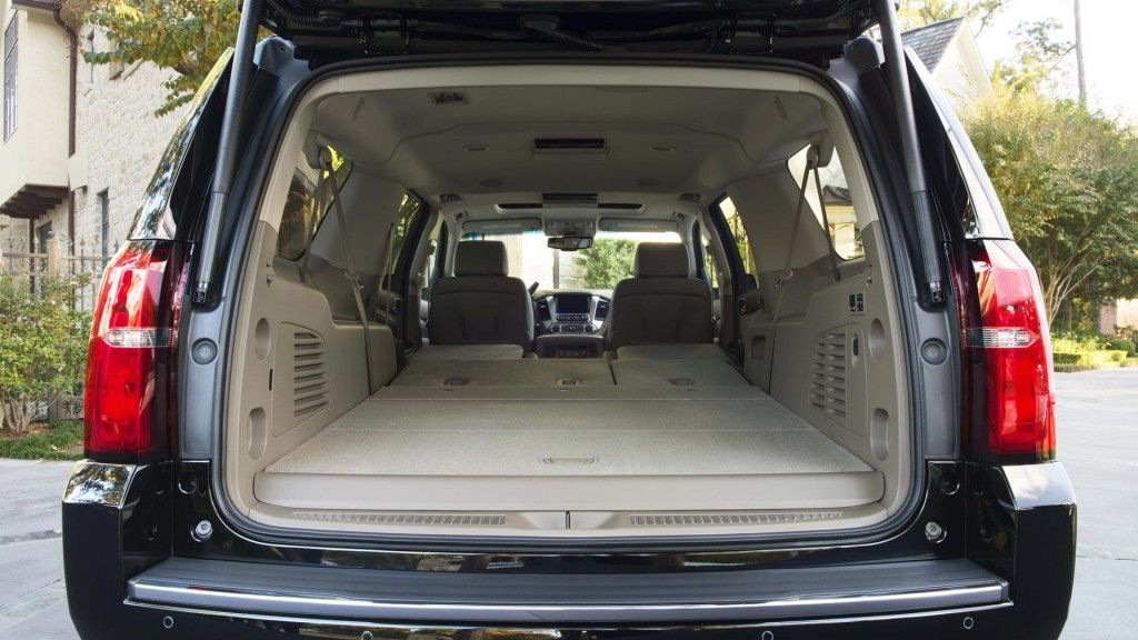 Power Fold Flat Seats Available In The 2016 Chevrolet Suburban