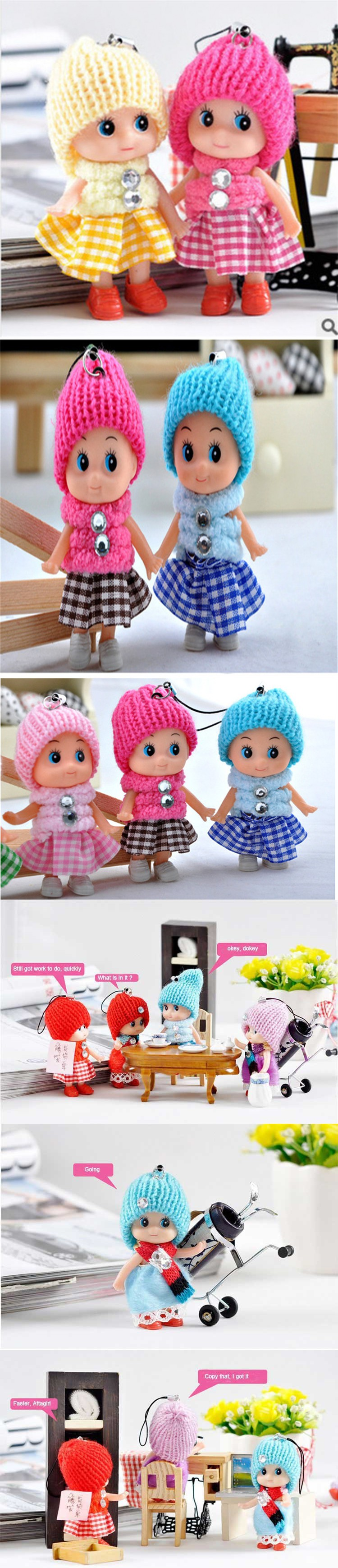 Kids Toys Soft Interactive Baby Dolls Toy Mini Doll For Girls