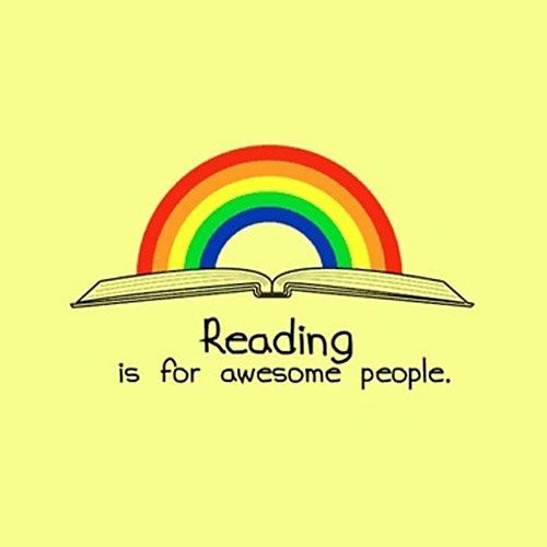 Reading is for awesome people.