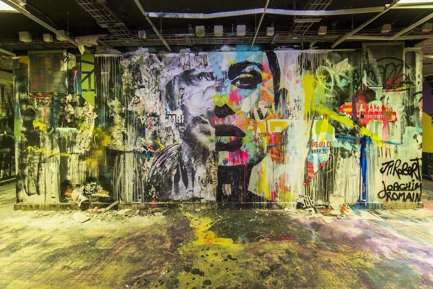 A la Cité Internationale Universitaire de Paris, des fresques à couper le souffle avant la rénovation d'un bâtiment