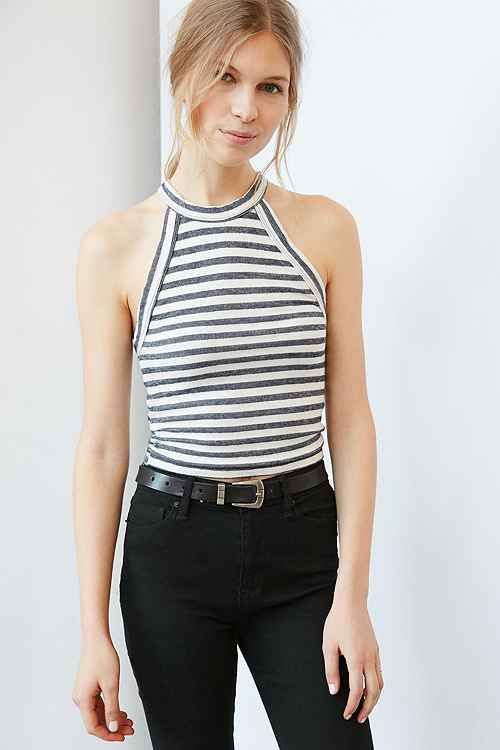 c47998f094 Shop Urban Outfitters for the latest crop top and tank top styles. We have  all the crop styles you're looking for to dress up or wear as an every day  look.