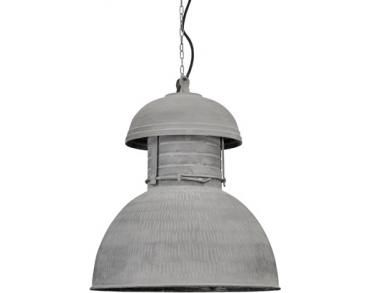 Industrielampe Warehouse - L - Rustikal Grau - HKLiving