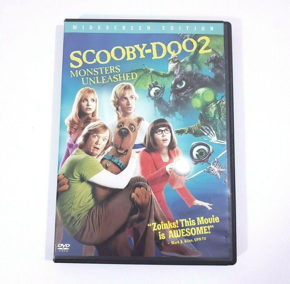 Scooby Doo 2 Monsters Unleashed Dvd 2003 Freddie Prinze Jr Sarah Michelle Gellar In 2020 Scooby Scooby Doo Monster