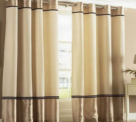 Living Room Curtains Designs Delectable Two Tone Curtains Ideas For Living Room  Top 10 Designs Ideas Inspiration