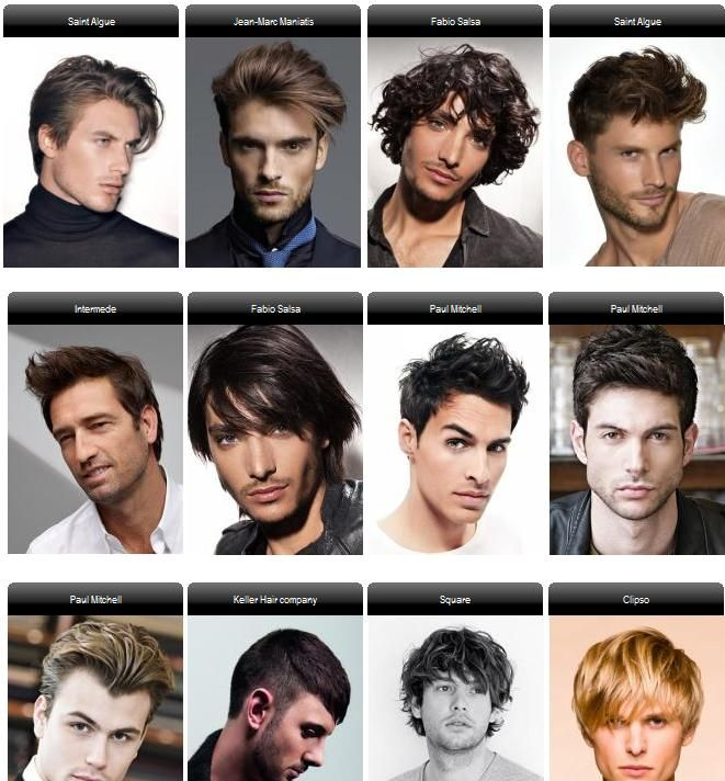 12 Different Hairstyles Of A 20 Year Old Male Hairstyle Names