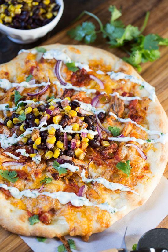 Chipotle Chicken Pizza Receta amor Pinterest Pizza, Chicken
