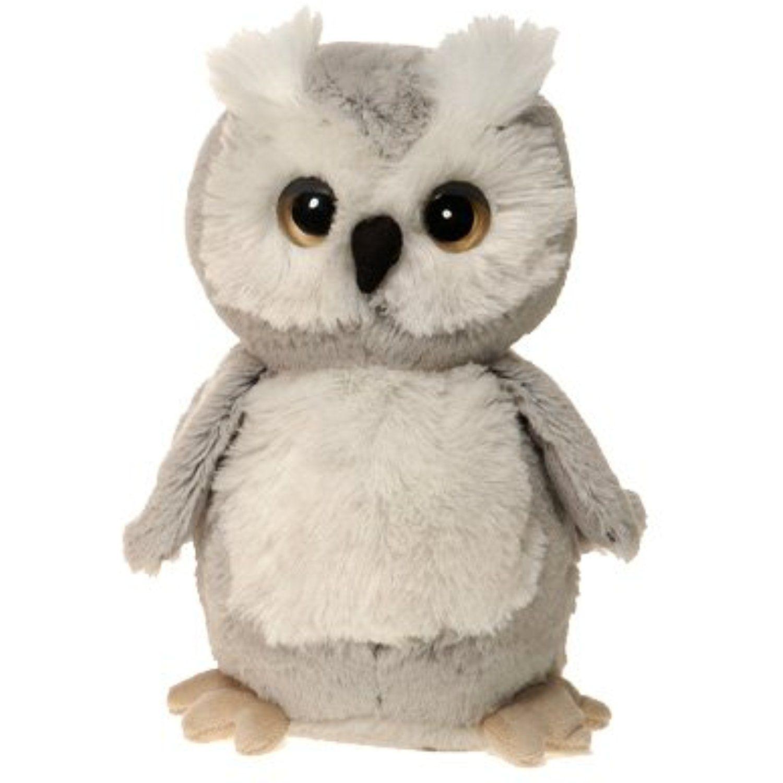 Fiesta toys gray owl plush stuffed bird toy 7 inches