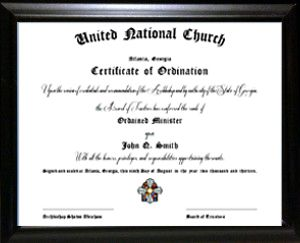 Become Ordained Online, Online Ordination, Get Ordained Online, Be an Ordained Minister with United National Church, Legally Perform Weddings
