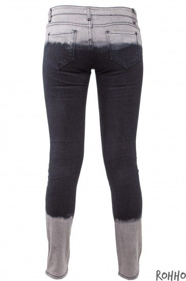 Rohho Cieniowane Jeansy Tie Dye Ombre Czarno Szare 4328300893 Oficjalne Archiwum Allegro Fashion Pants Jean