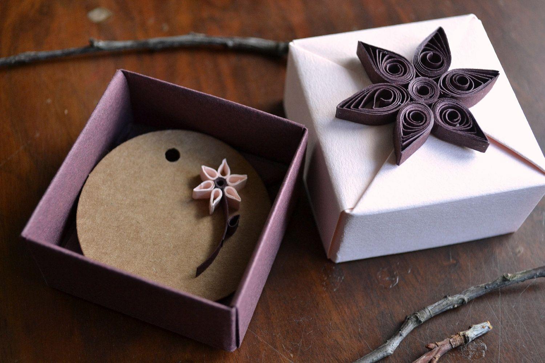 Unique Gift Box, Gift Wrap, Wedding Favor, Origami Box