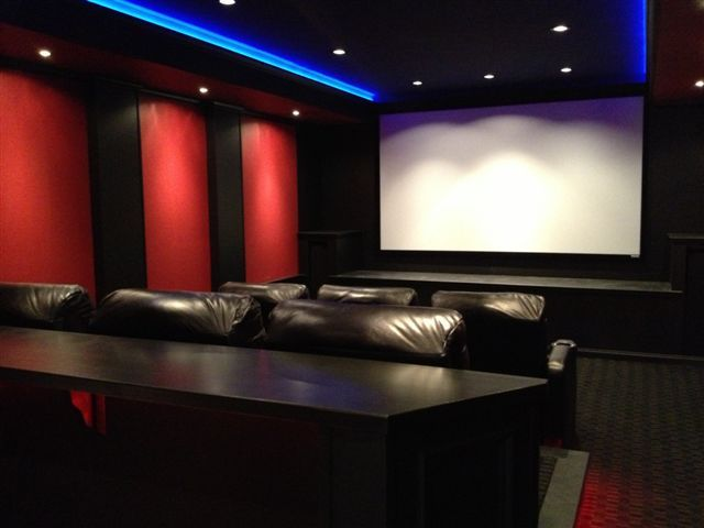 Take Your Home Theater Lighting To The Next Level Footballparty Ledtheater Home Cinema Room Home Theater Rooms Home Theater Lighting