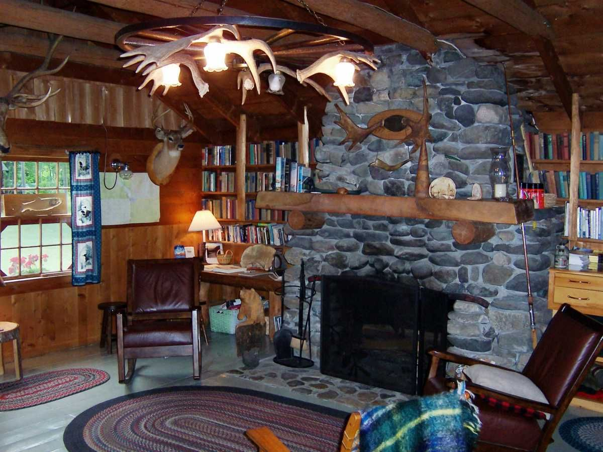 Hunting Lodge Style On Pinterest Lodges Hunting And - Bradford camps waterfront log cabins lodge resort cottages hunters home interiors 1200x900