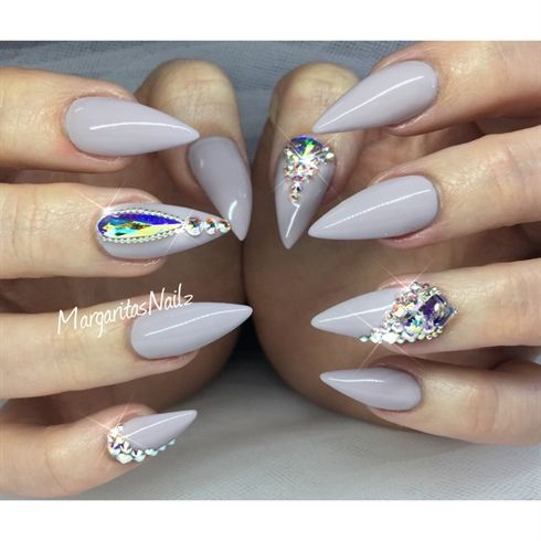 Bling Stiletto Nails  by MargaritasNailz from Nail Art Gallery