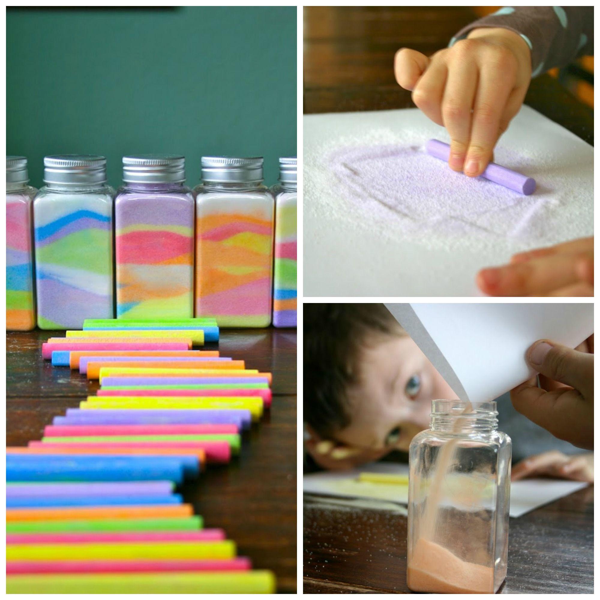 Rainbow In A Jar Beautiful Art For Kids Using Chalk And Salt Sunday School Crafts Crafts For Kids School Crafts [ 2000 x 2000 Pixel ]