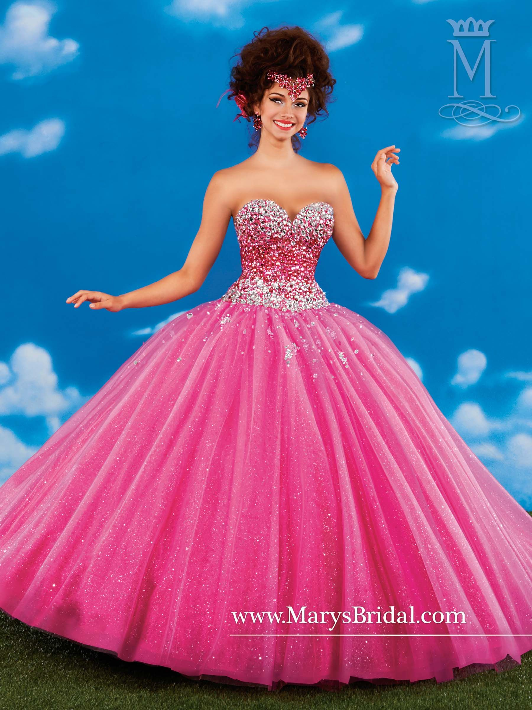 Mary\'s Princess collection of Quinceanera dresses | Maya\'s ...