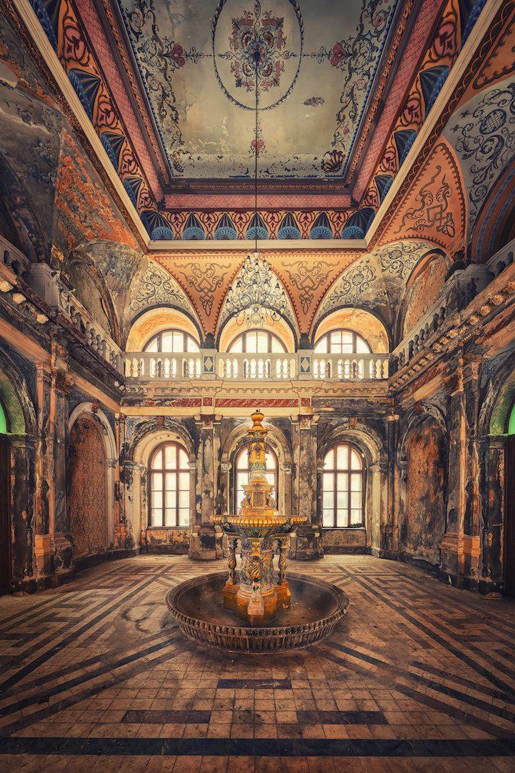 22 fascinantes fotografías que resaltan la olvidada belleza de edificios abandonados - Cultura Inquieta