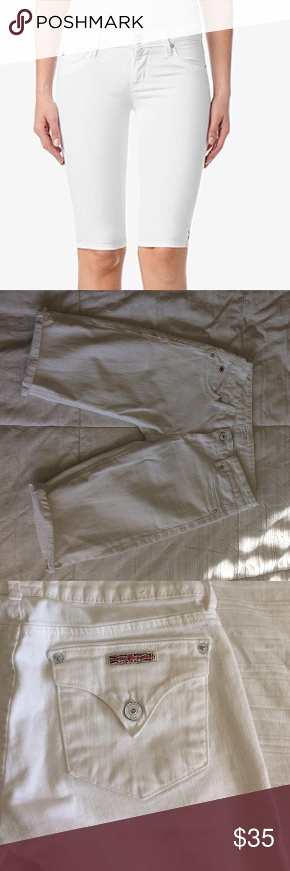 Hudson sz 25 white denim shorts | Shorts, D and Shorts sale