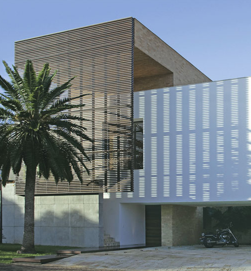 Super Resultado de imagem para PAINEL METALICA EM FACHADA   arquitetura  PA69