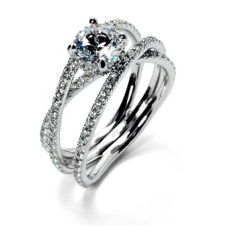 Another Three Strand Wedding Engagement Ring