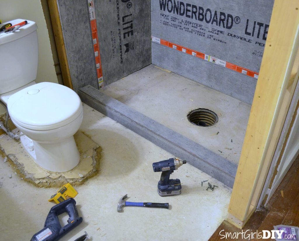 Diy Custom Shower 1 Supplies Walls Curb With Images Diy