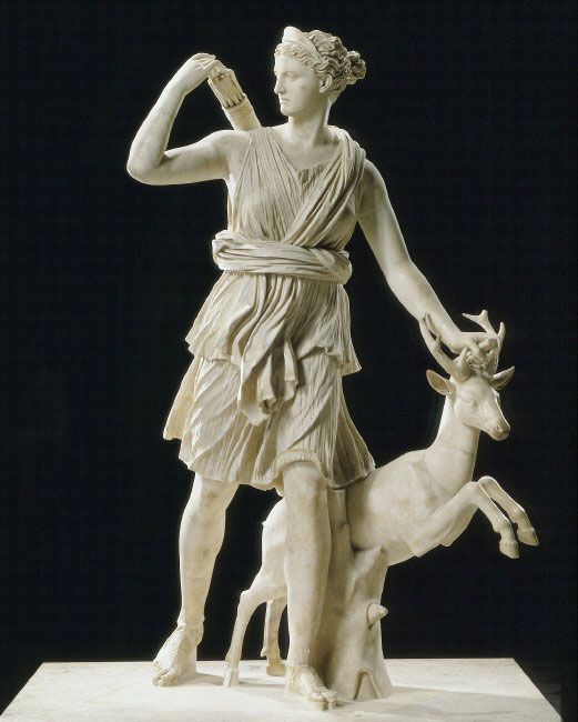 Diana cazadora diana de versalles 325 ac leocares for Artemis study