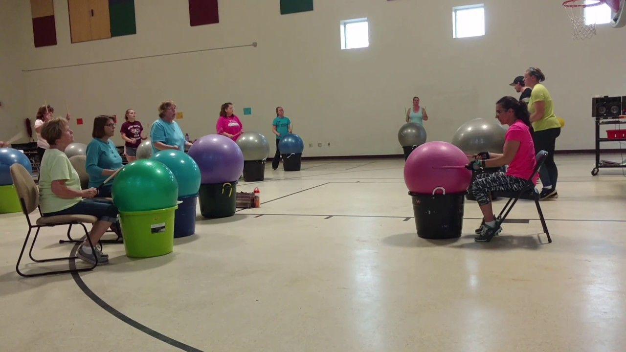 Cardio drumming for seniors Cardio drumming, Recreation