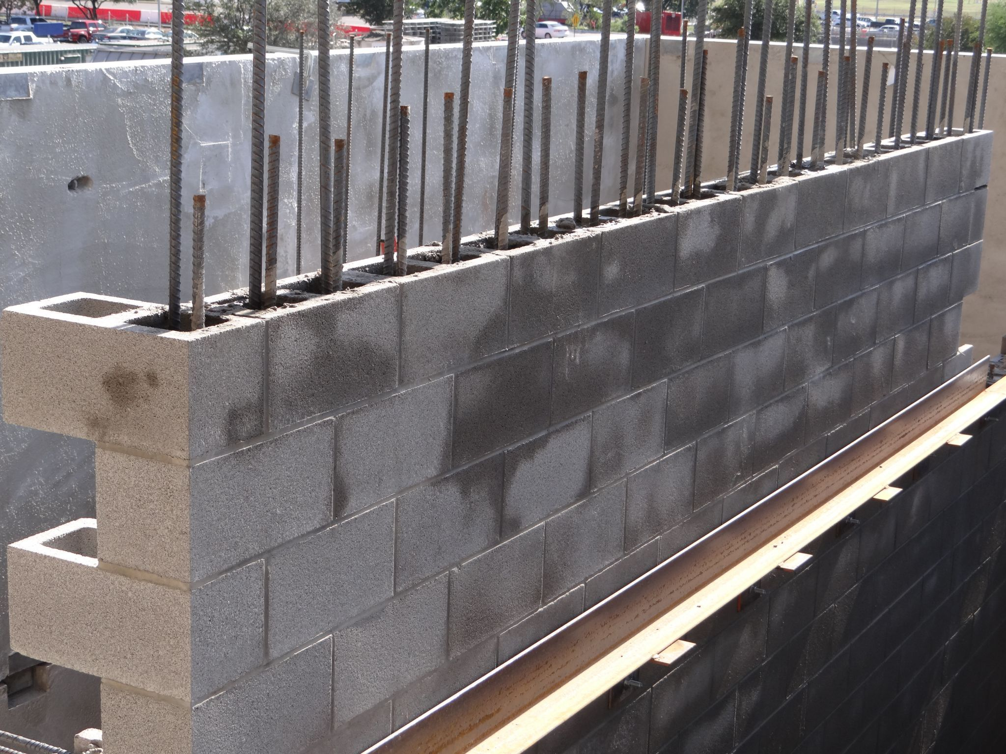 image result for cinder block wall finishes concrete on types of structural walls id=79876