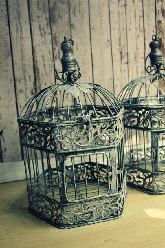 vintage birdcages ideas for the big day bird cage centerpiece vintage birds bird houses. Black Bedroom Furniture Sets. Home Design Ideas