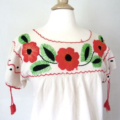 Cotton Embroidered Tunic