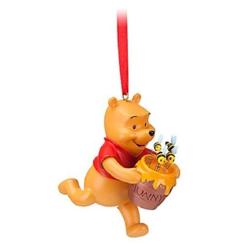 NIP Disney Store WINNIE THE POOH & Honey Pot 2012 Sketchbook Christmas Ornament #Disney