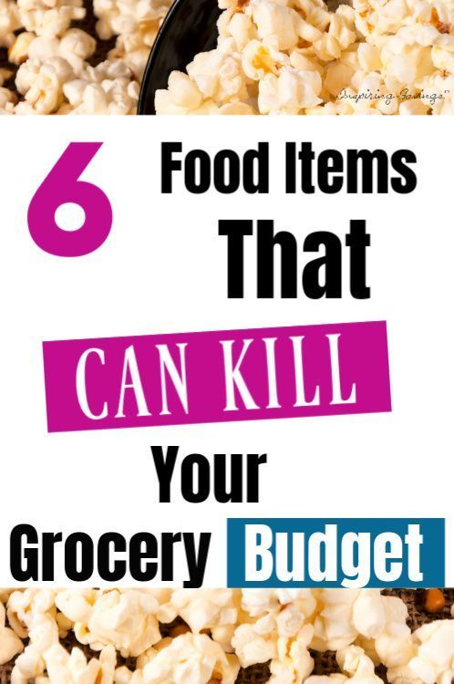 One Stop Solutions In Budget: 6 Food Purchases That Kill Your Budget