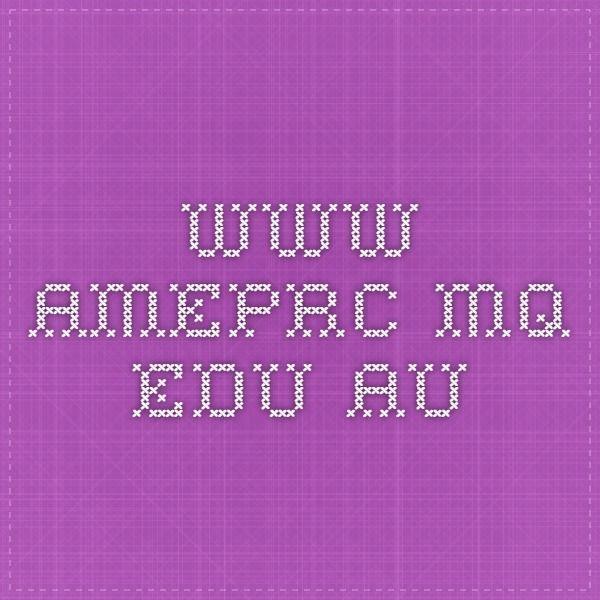 www.ameprc.mq.edu.au
